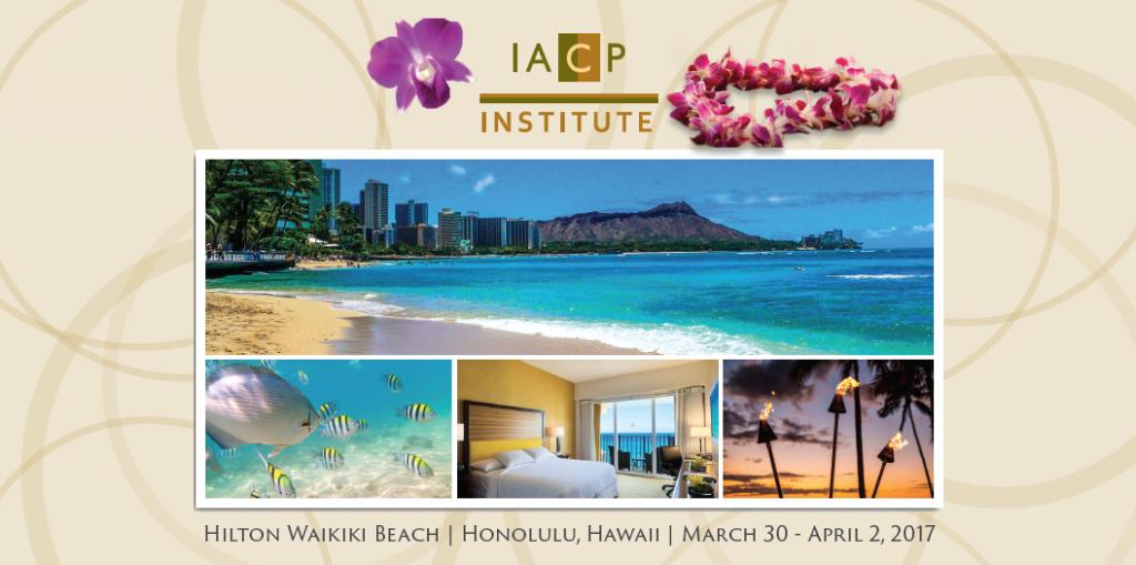 Congrès annuel IACP 2017