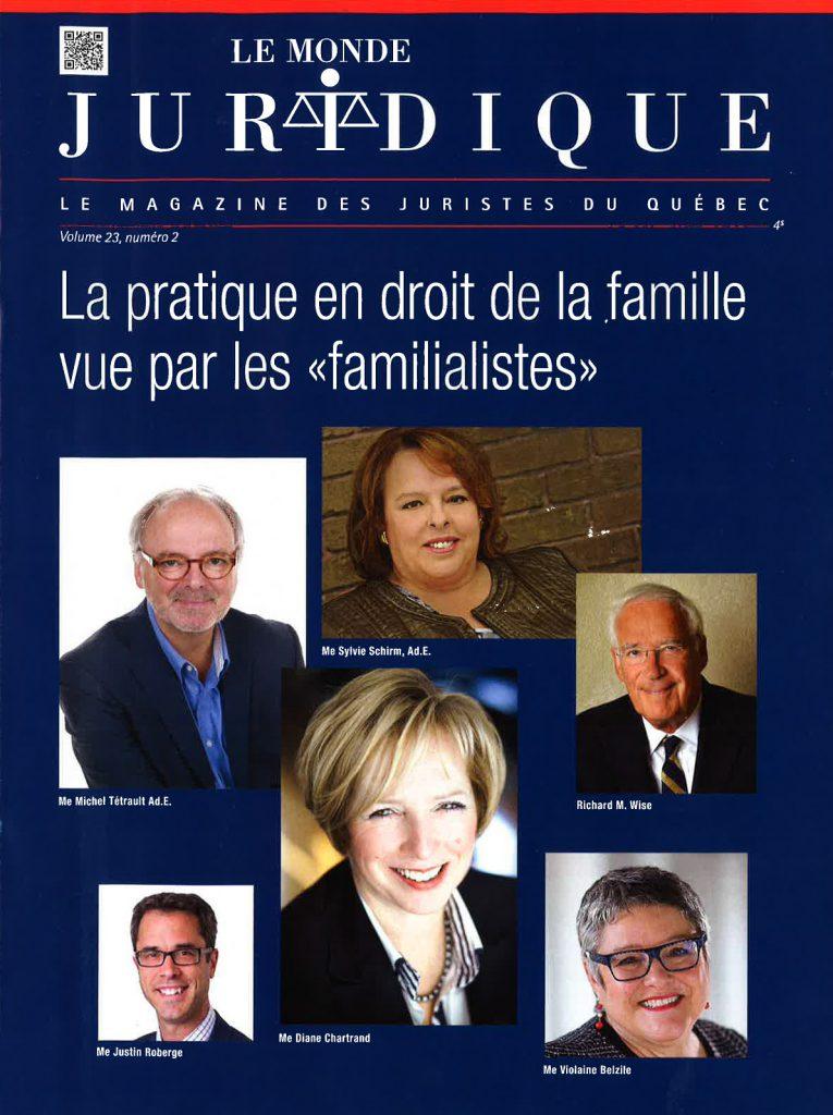 page couleur Le Monde juridique